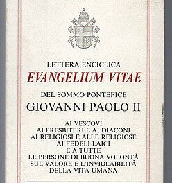 EVANGELIUM VITAE: Che nessuno svuoti questo straordinario documento