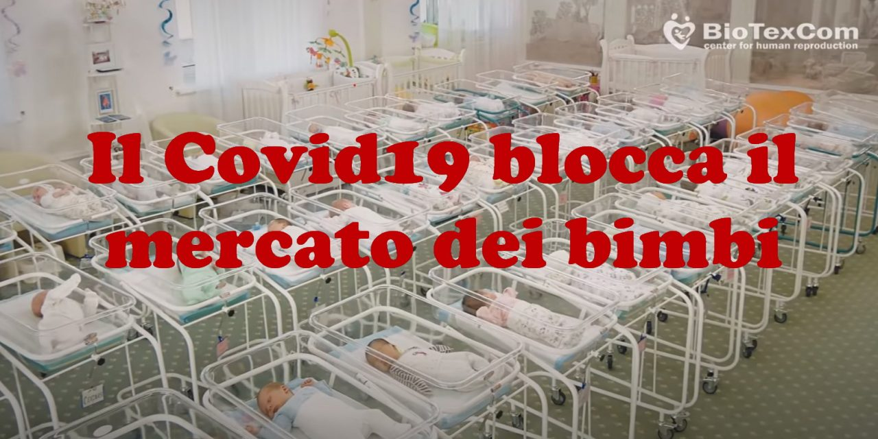 Il Covid19 blocca il mercato dei bimbi