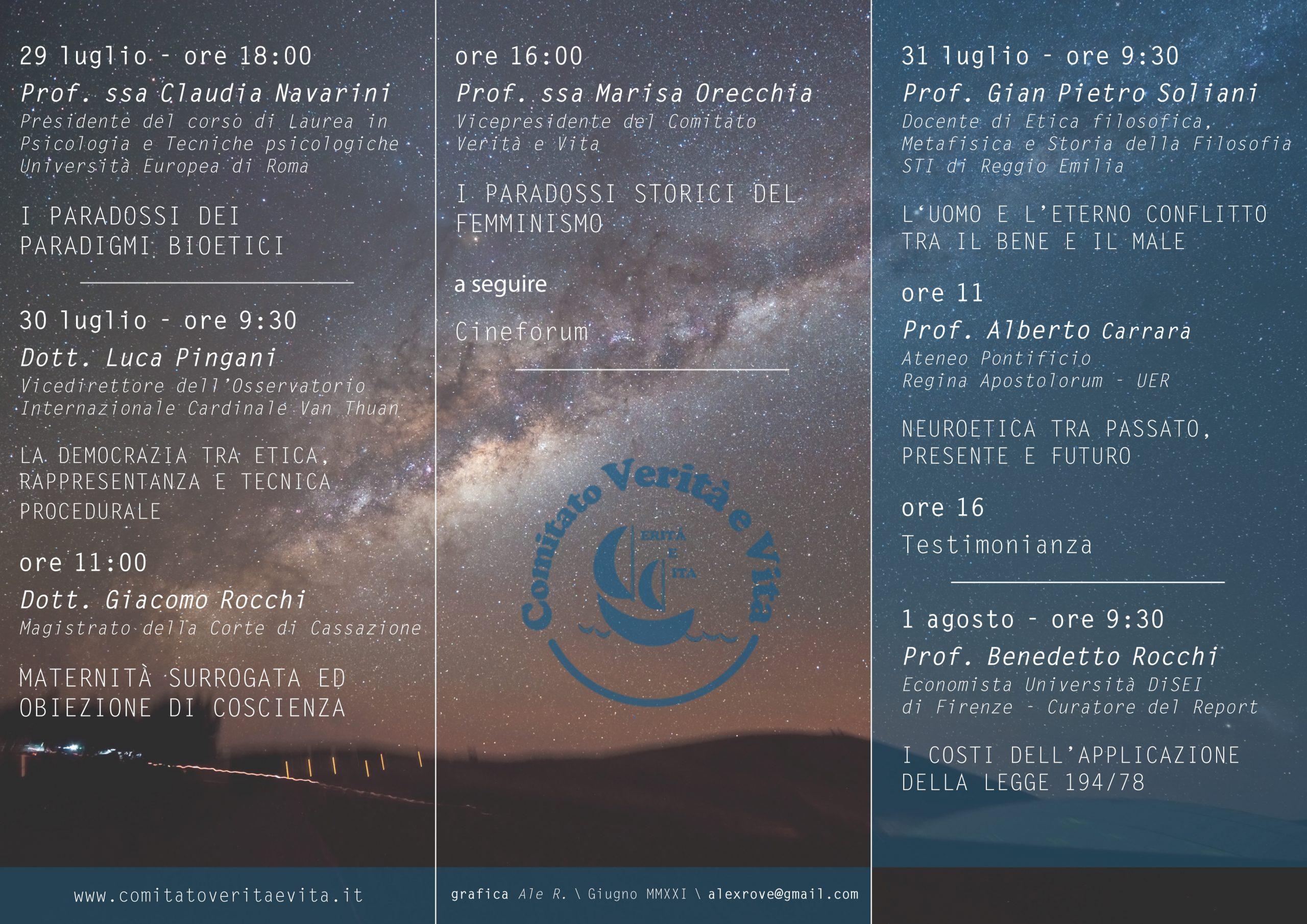 Seminario Palmaro - VIII ed - Programma